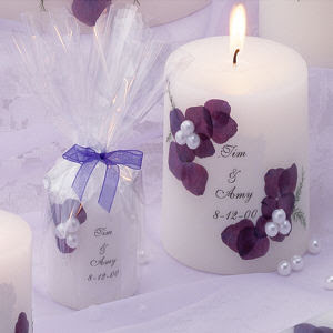 Wedding Favours Boutique: Candle Wedding Favours
