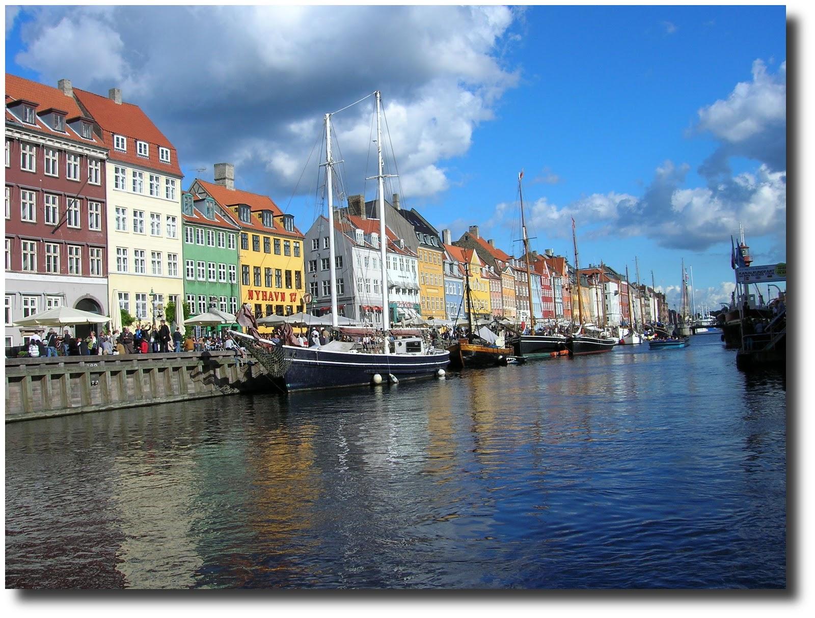 canal Nyhavn, Copenhague, dinamarca, vuelta al mundo, round the world, La vuelta al mundo de Asun y Ricardo, mundoporlibre.com