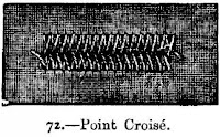 Embroidery Point Croise Stitch