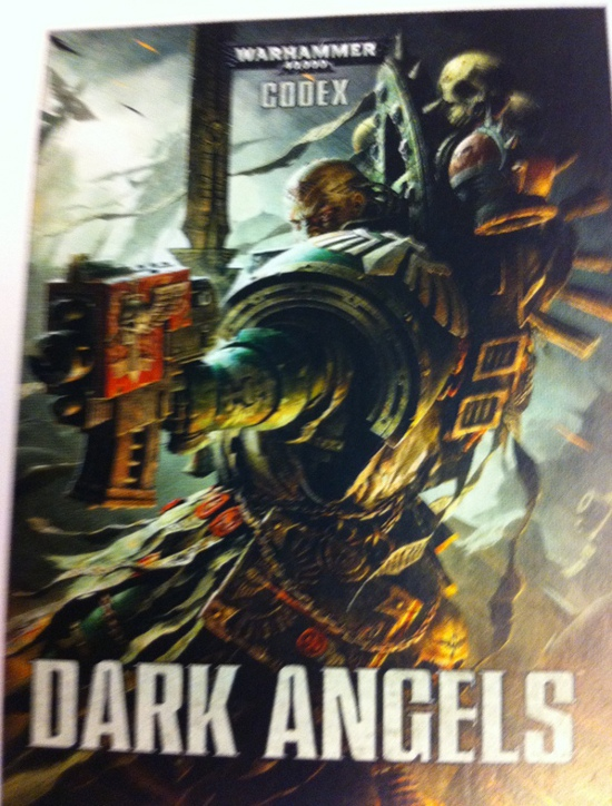 Dark Angels Codex Units