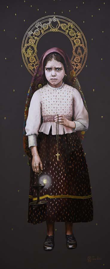 Santa Jacinta Marto. Pastorinha de Fátima.*