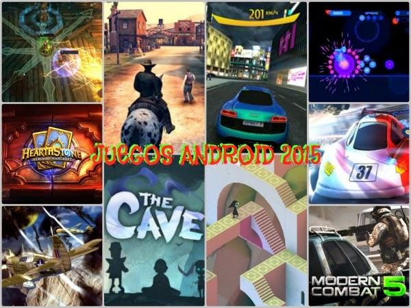 10 Juegos Buenos para Android 2015