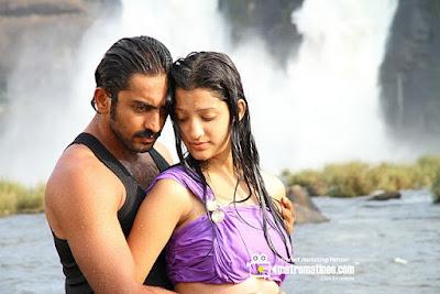 Richa Panai Bheema gold advertisement actor hot navel and wet image Gallery
