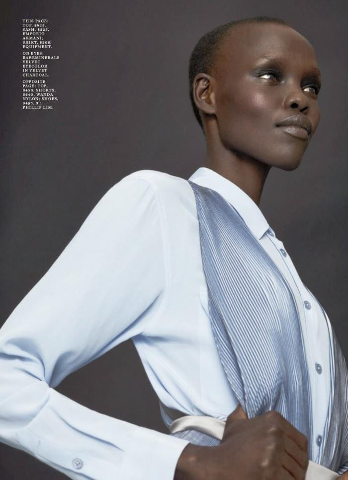 Grace Bol HQ Pictures Marie Claire US Magazine Photoshoot April 2014 By Markus Pritzi