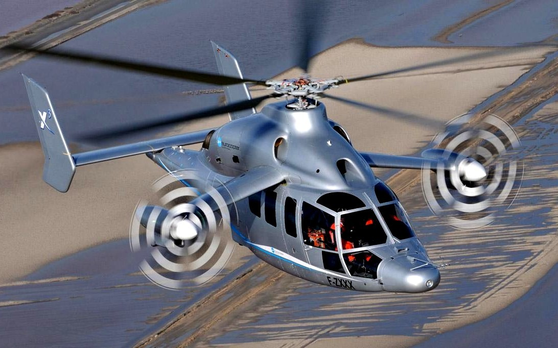 Eurocopter X3 Helicopter Wallpaper 3