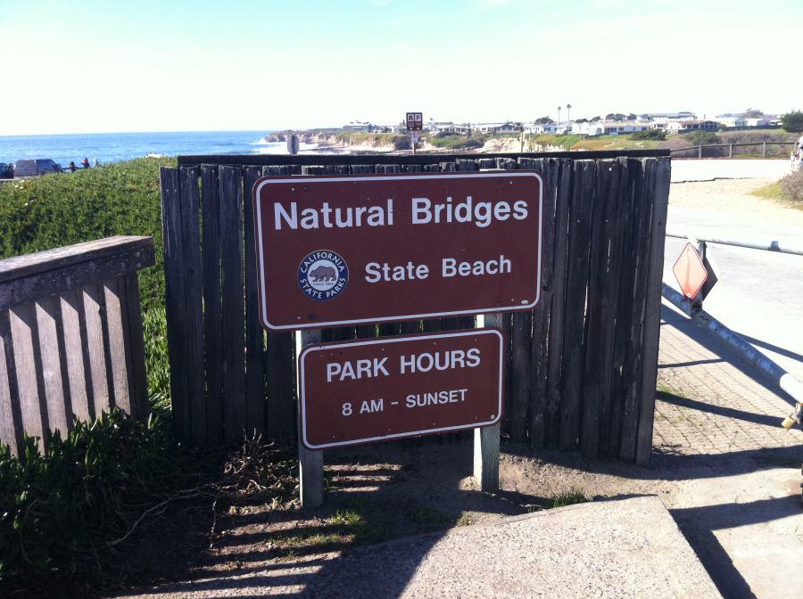 Natural Bridges Visitor Center Santa Cruz
