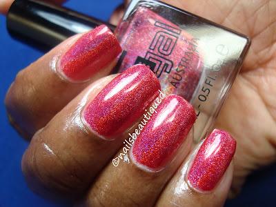 Glitter Gal Code Red