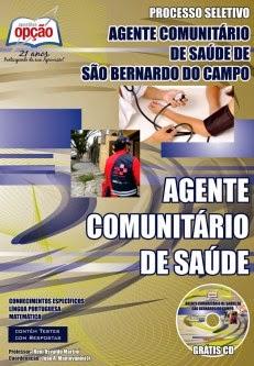 Apostila Fundação ABC - Central de Convênios - Agente Comunitário de Saúde de São Bernardo do Campo - Processo Seletivo - Edital 01/2014