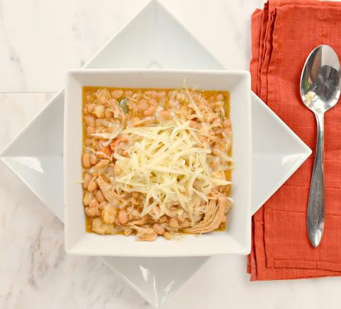 Crock Pot Tomatillo Hominy Chili