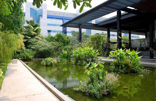 HortPark gardening hub in Singapore