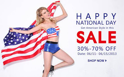 romwe national day sale