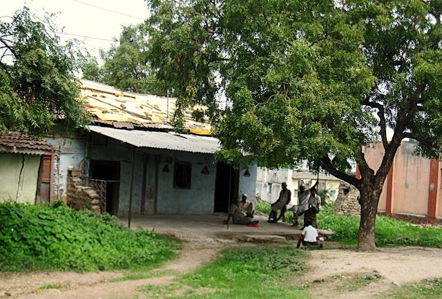 villagers in village