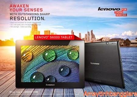 Máy tính bảng lenovo S6000 màn hình lớn 10 inch