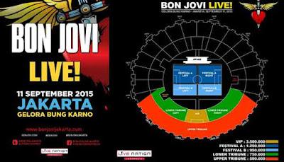 Konser Bon Jovi 2015