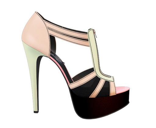 Meinglitter: Cool Stuff - Shoe design for dummies