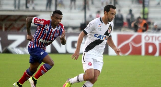 Vasco 4 x 3 - Os gols