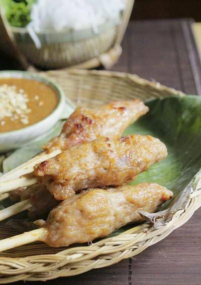 Vietnamese Food Culture - Nha Trang Grill Pork Sticks