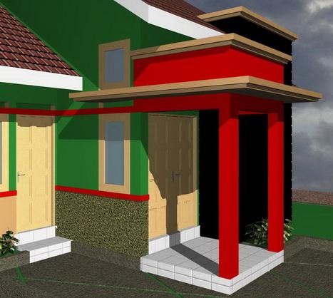 contoh rumah minimalis model model teras rumah
