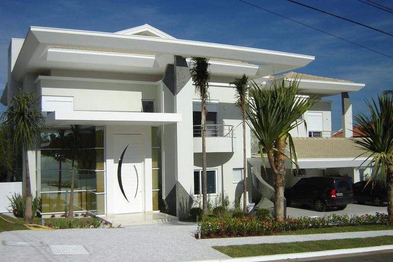 40 Fachadas de casas modernas e esculturais maravilhosas!  Decor