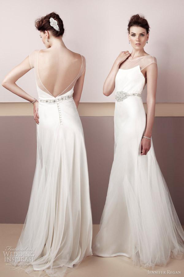 Wedding Dresses Ideas: Simple Beauty Sweet Jennifer Regan Wedding ...