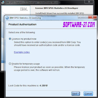 IBM SPSS Statistics 21 full version