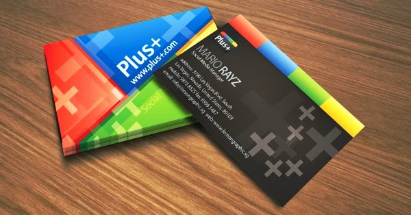 Best Business Cards Ideas For Websites google plus