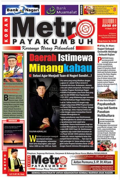 Koran METRO Payakumbuh