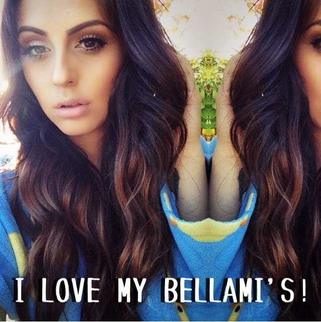 Carina Beautyfashionlifestyle Bellami Hair Extension Review