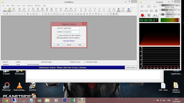 GoldWave 5.68 Final Editor de Audio 2013