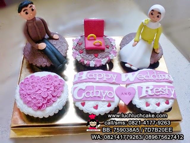 Cupcake Wedding Daerah Surabaya - Sidoarjo