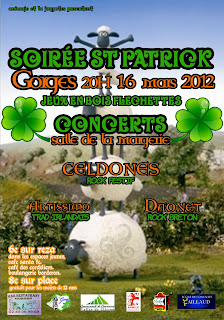 Saint Patrick avec Daonet à Gorges