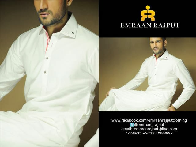 EMRAAN RAJPUT MEN CASUAL & PARTY WEAR KAMEEZ SHALWAR