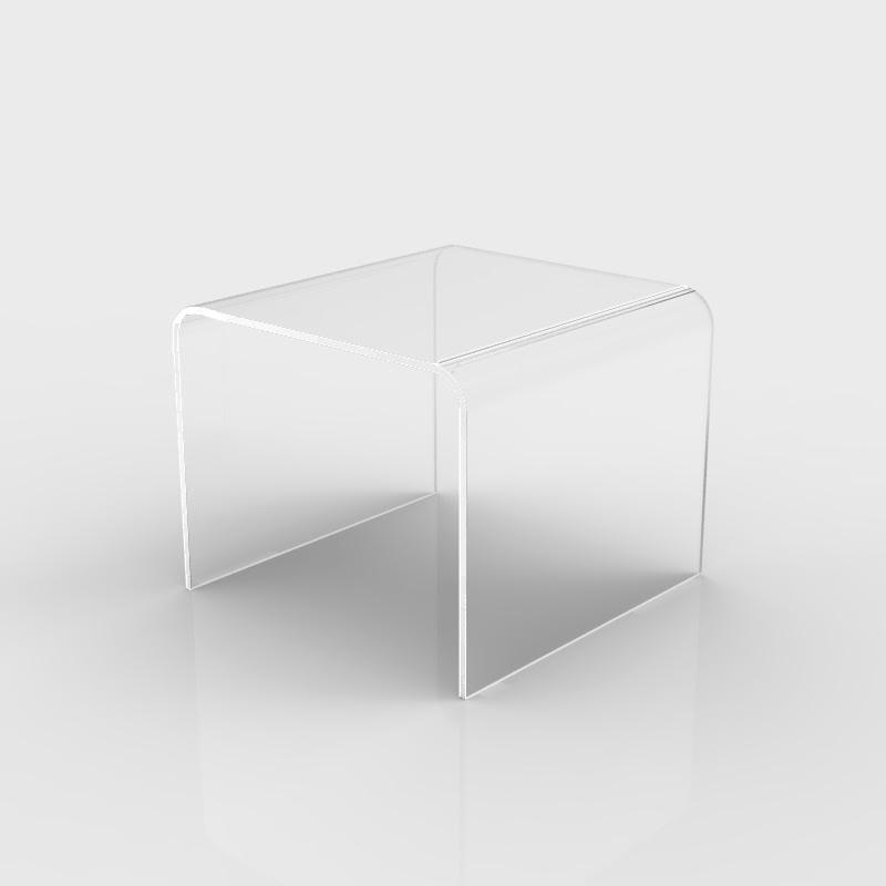 tavolino da soggiorno in plexiglass
