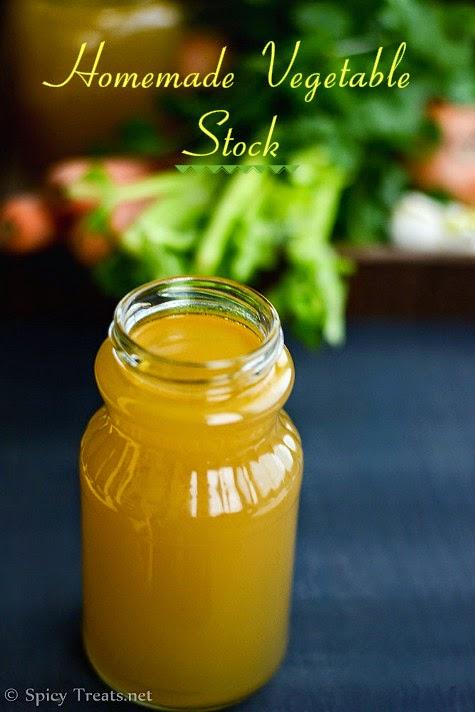 Homemade Veg Stock Recipe