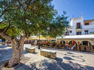 Terrasjes en restaurantjes in Moraira met Pasen