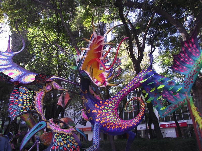 Alebrijes Expo Reforma
