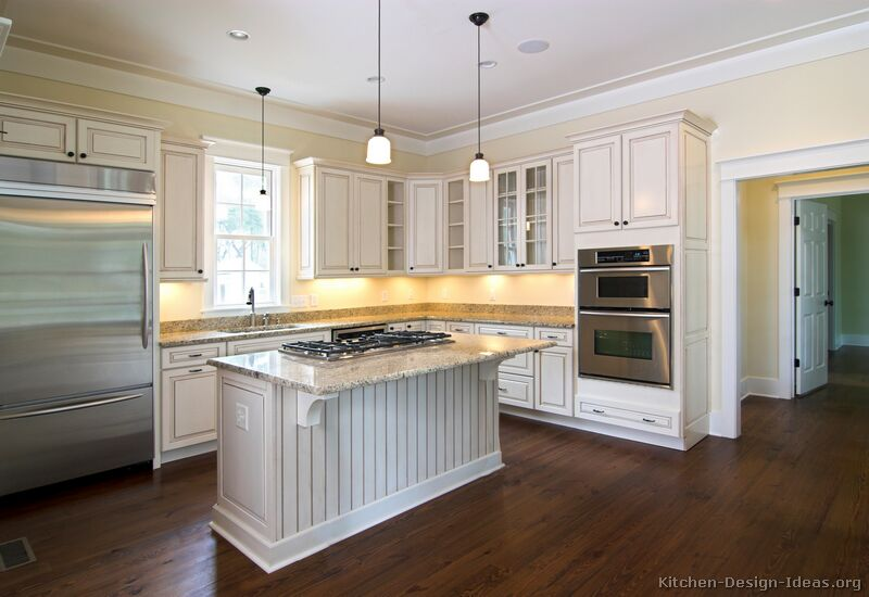 Whitewash Kitchen Cabinets Ideas