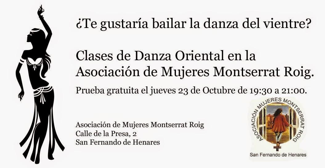 Clase gratis de Danza Oriental en Montserrat Roig con Jaded Morgan