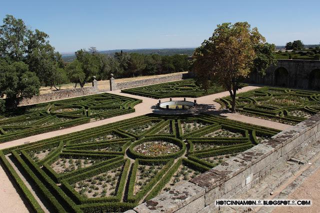 Jardines Monasterio San Lorenzo del Escorial
