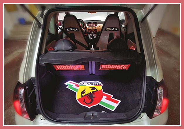 New abarth 500 russian tuning