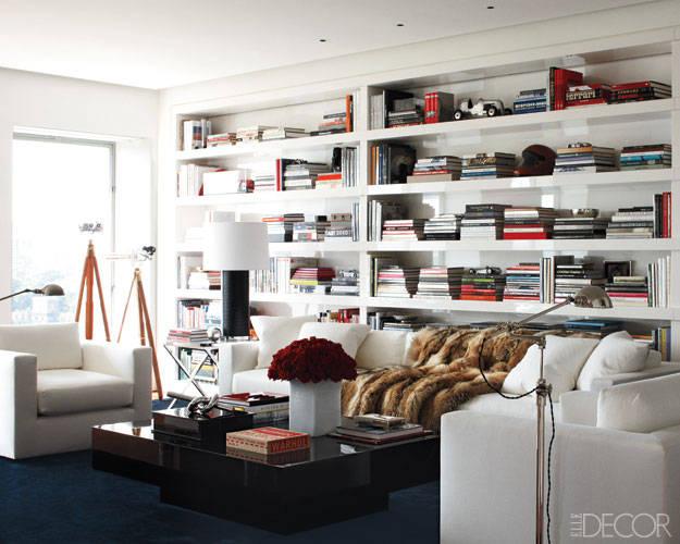 in the living room of ralph lauren 39 s manhattan duplex apartment clean