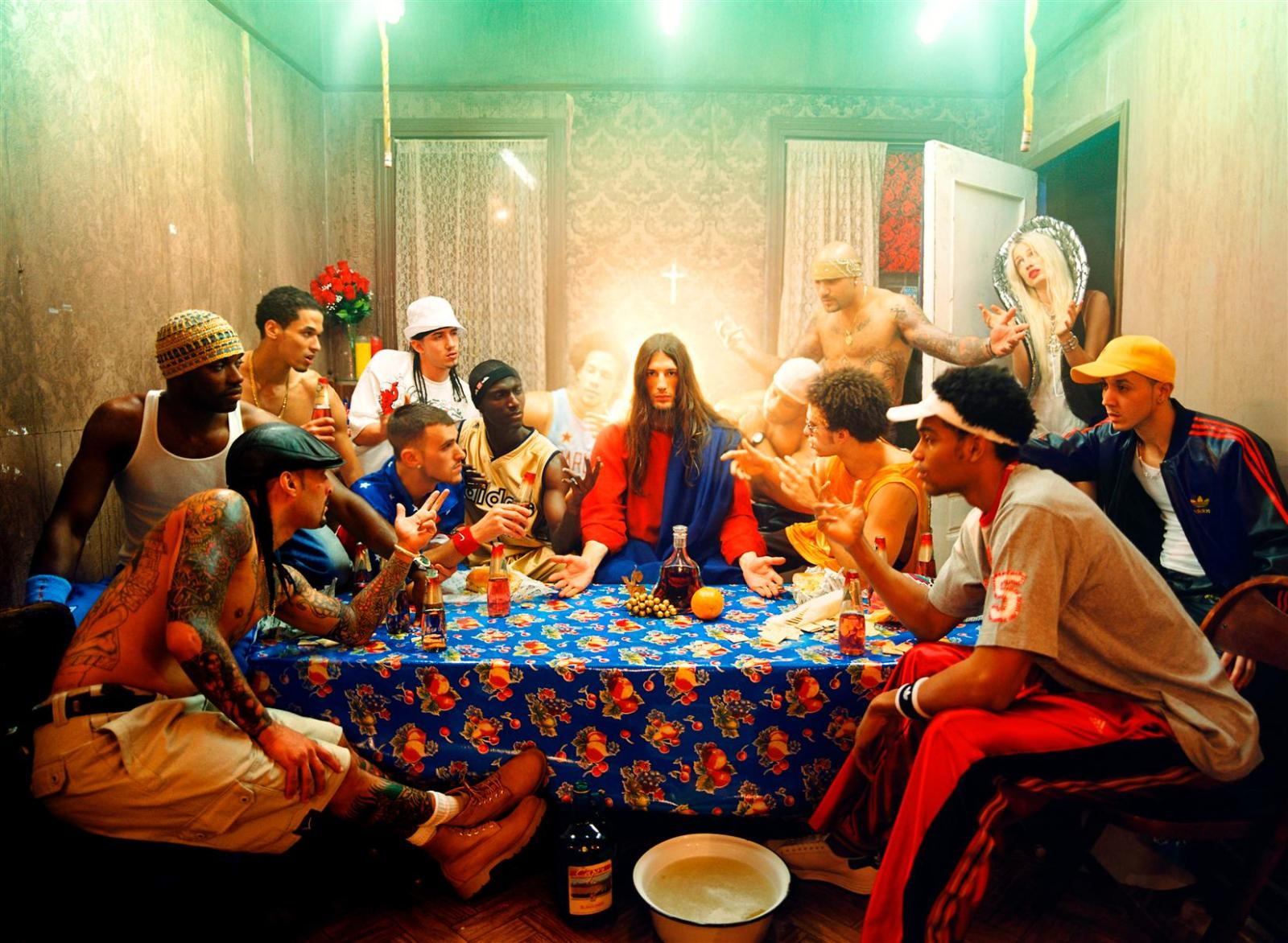 last supper by david lachapelle analysis art essay I am going to analyse the image taken by mentioned artist above the essay will  cover wide range of descriptive language from focus, light,.