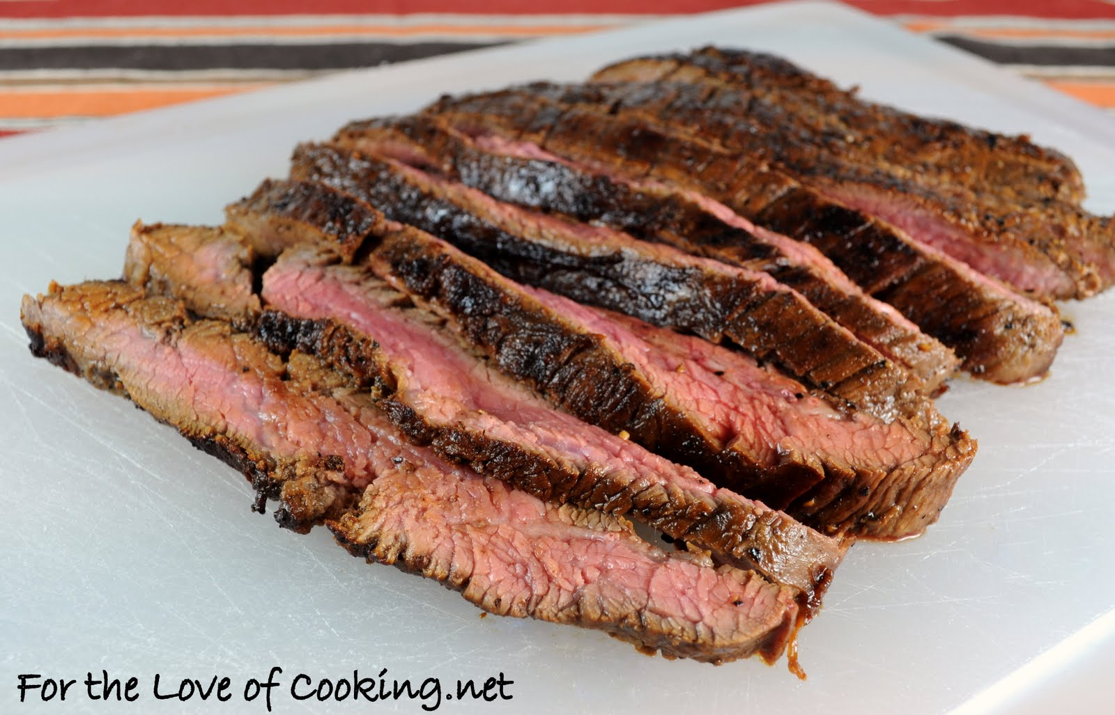 For the Love of Cooking: Soy and Honey Marinated Flank Steak