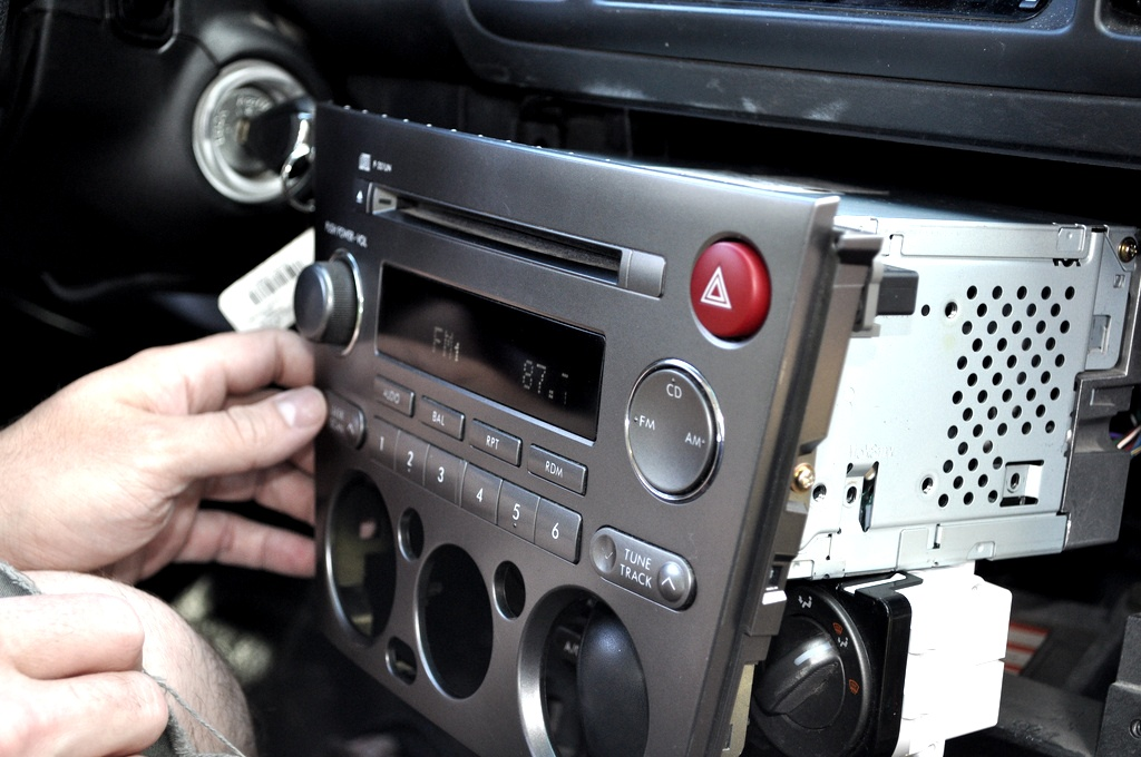 5844636628_5c0a05b5b7_b snackeyes 2005 subaru outback aux in hack via radio module  at mifinder.co