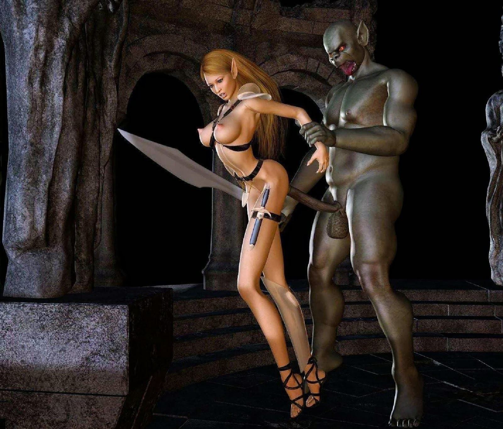 Drow ranger pron sex adult video