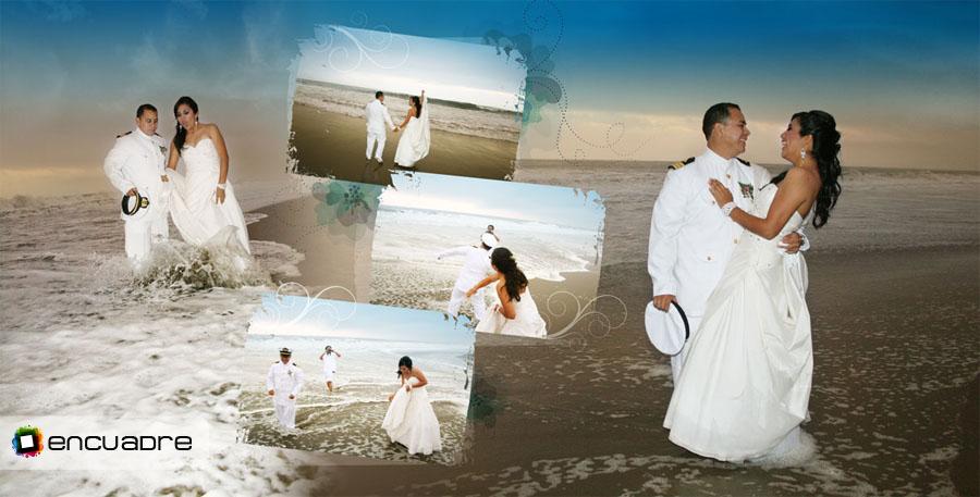 photobook novia playa orilla del mar
