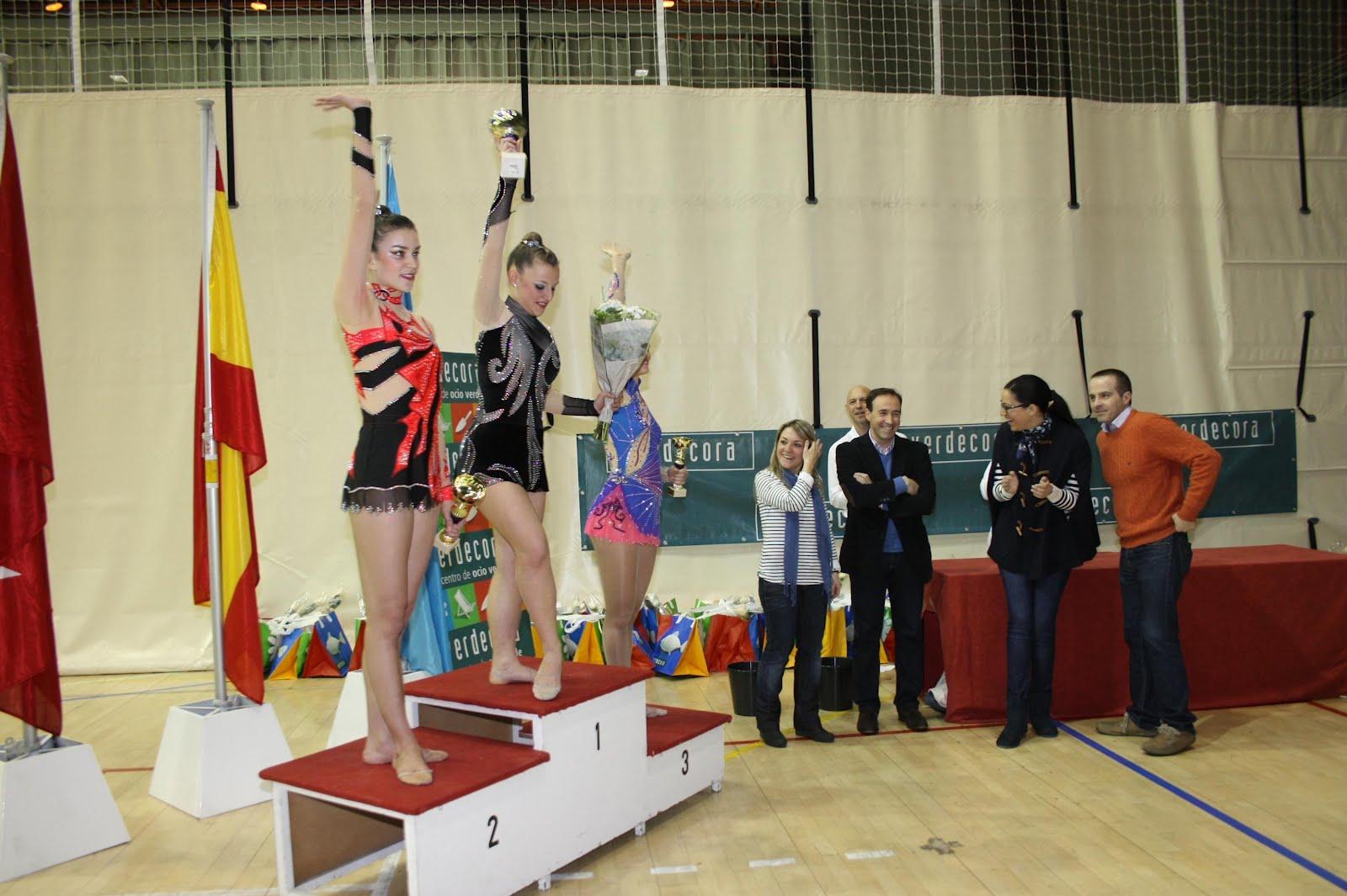 El club gimnasia r tmica de legan s obtuvo un primer for Club gimnasio