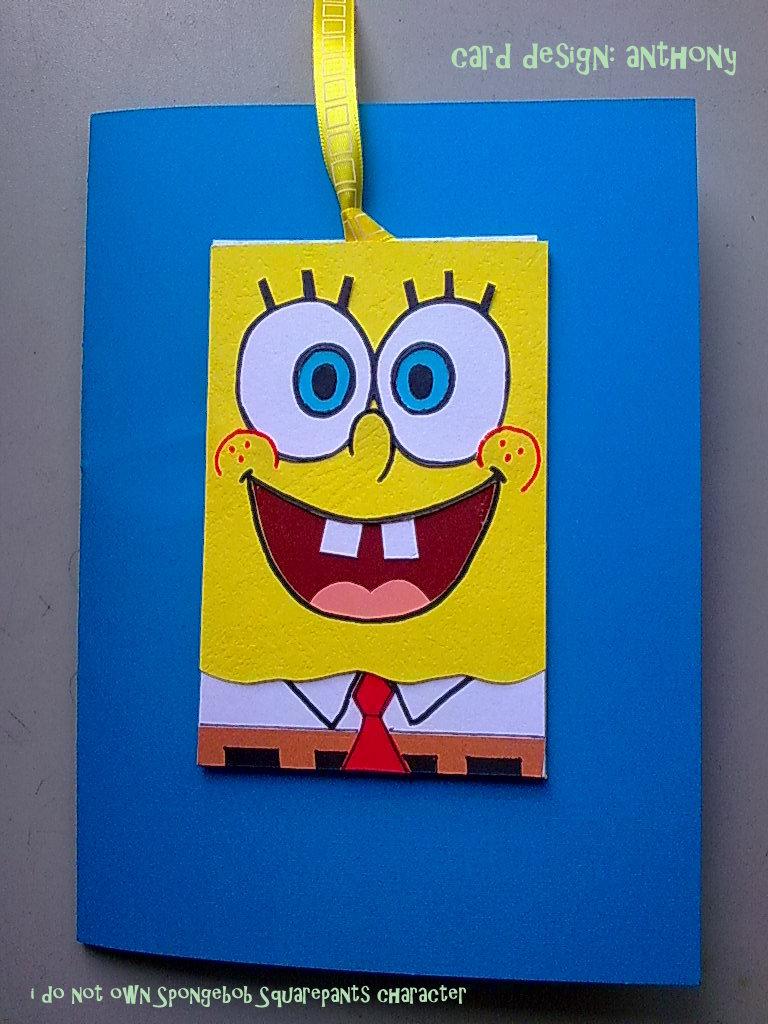 TonyHandCraft SpongeBob SquarePants Birthday Card – Spongebob Birthday Cards