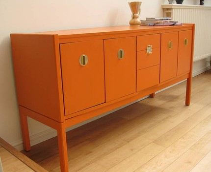 Lamb blonde sideboard lust for Sideboard orange