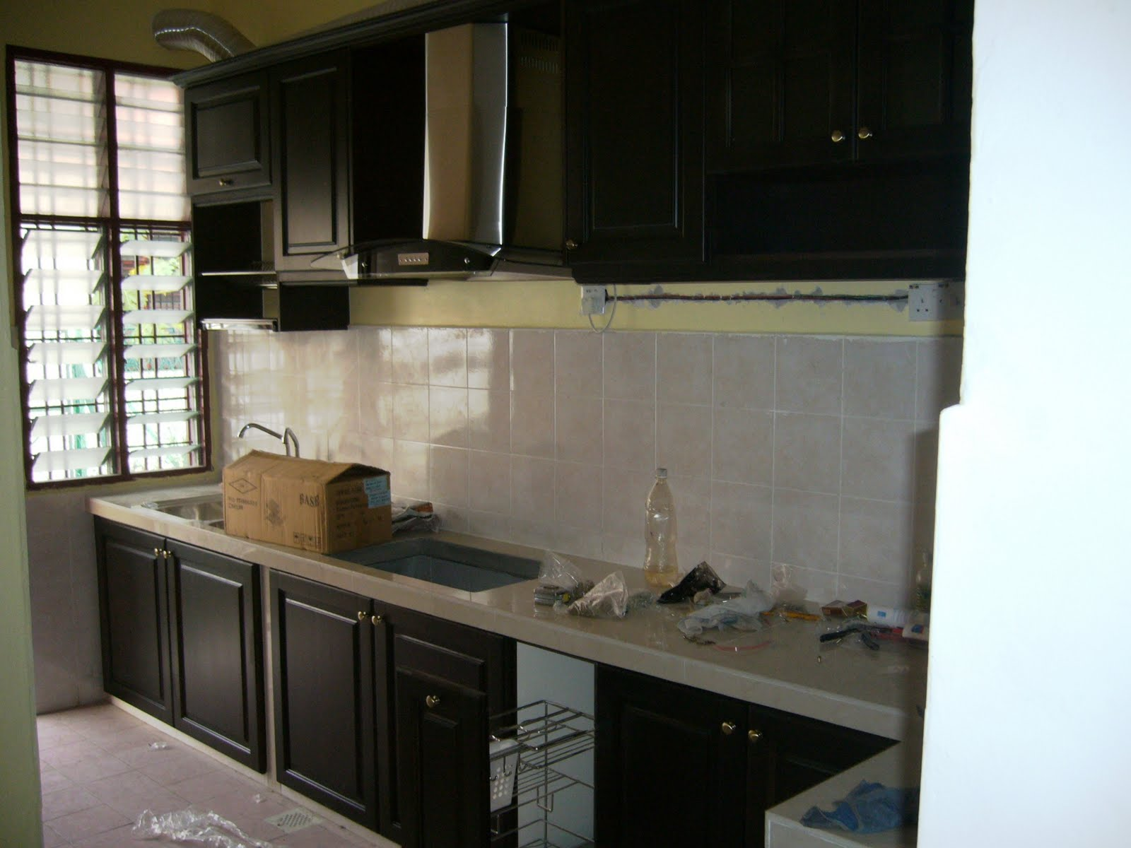 Construction and renovation sample quotation for Kitchen cabinets quotation